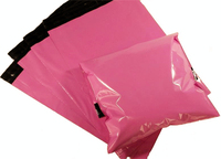 23 35cm100PCS Pink Color Envelope Mailing Bag Courier Mailer Express Bag