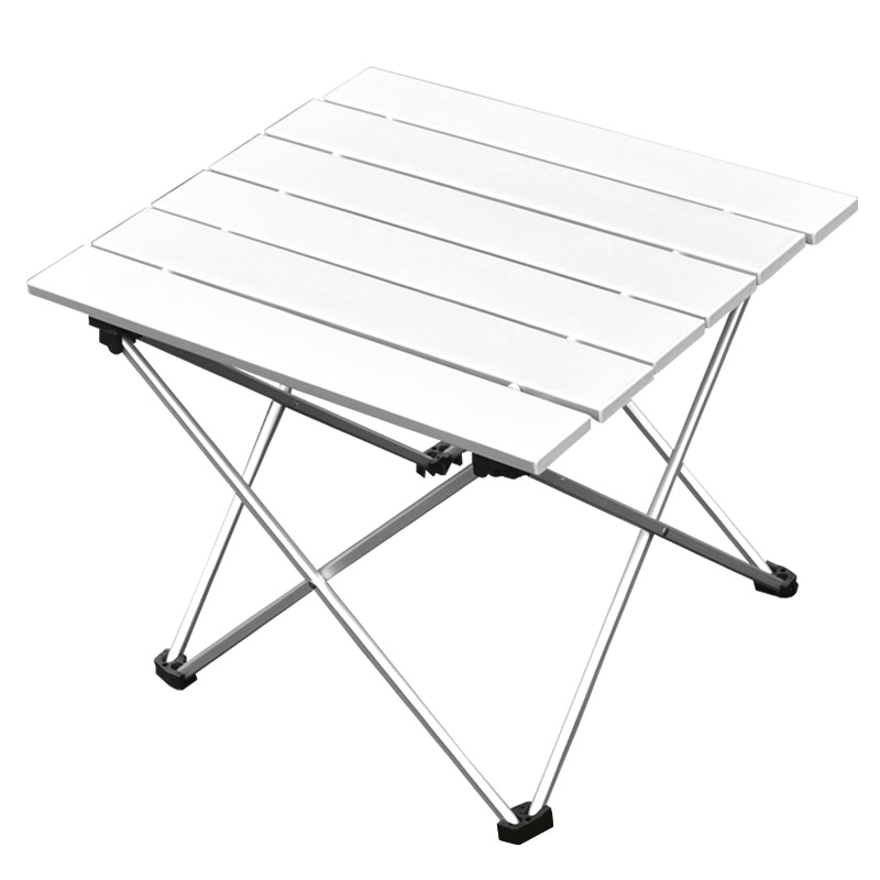 2017 New Portable Aluminium Alloy Table Outdoor Folding Table Picnic Table  Camping Table Outdoor Furniture In Outdoor Tables From Furniture On ...