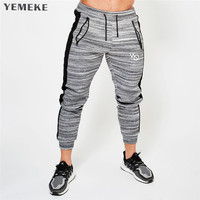 2018 New High Quality Jogger Pants Men Fitness Bodybuilding Gyms Pants For Runners Brand Clothing Autumn