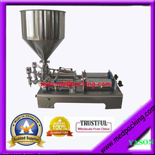 Double headsSemi Automatic Pneumatic Small Bottle Filling Machine 5-100ml GRIND