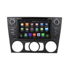 7 Inch 1 Din Android 5.1 Quad Core HD1024*600 Car DVD Player For BMW E90 Saloon Car Stereo Multimedia Player Free 8GB MAP Card