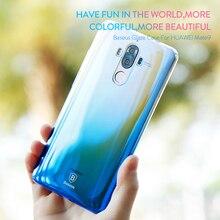 BASEUS оригинальный чехол для Huawei Коврики 9 В виде ракушки глазури постепенное Цвет изменение ПК телефон В виде ракушки для Huawei Коврики 9 чехол