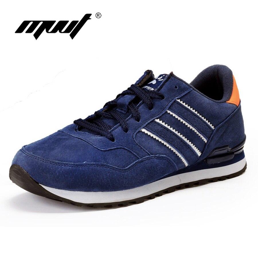 ФОТО MVVT Fashion casual shoes men Soft comfortable men shoes genuine leather shoes men flats spring autumn superstar style men shoes