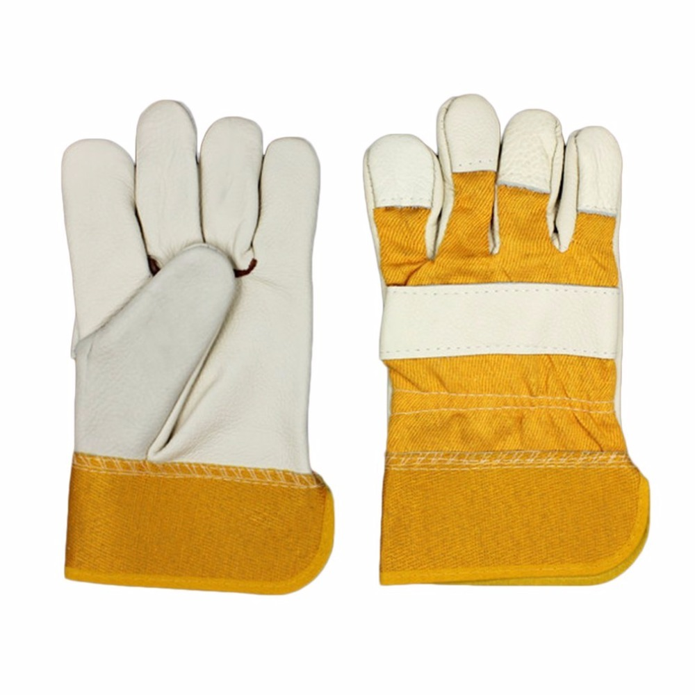 Cowhide Electric Welding Soldering Gloves Safety Labor Protective Gloves Working Gloves Anti-Abrasion Industrial Gloves gloves northland gloves