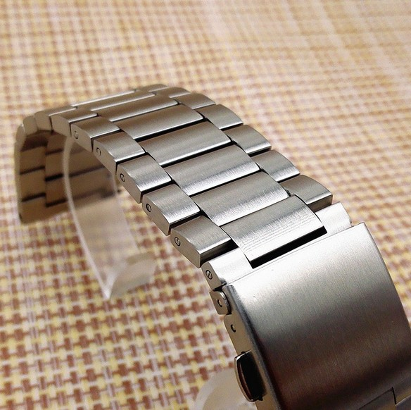 1PCS 23mm High quality Stainless Steel Watch bands Watch straps for Fitbit blaze watch parts-0134WB