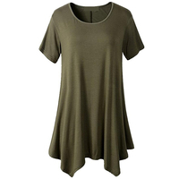 2018 New High Quality Multiple Color Loose T Shirt Women Solid Color Tees Plain Cotton Short Sleeve Women T Shirt Female Tops