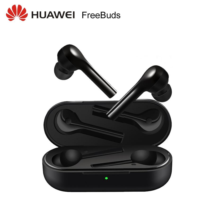 Huawei FreeBuds Global Version Huawei Bluetooth Headset Hi Fi Wireless earphone Tap control Built in G