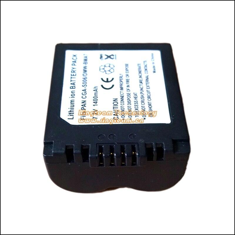 Galleria fotografica CGR-S006 DMW-BMA7 Batterie D'appareil Photo pour <font><b>Panasonic</b></font> Lumix DMC-FZ30 DMC-FZ35 DMC-FZ38 DMC-FZ50 DMC-FZ7 DMC-FZ8 DMC-FZ28 DMC-FZ18