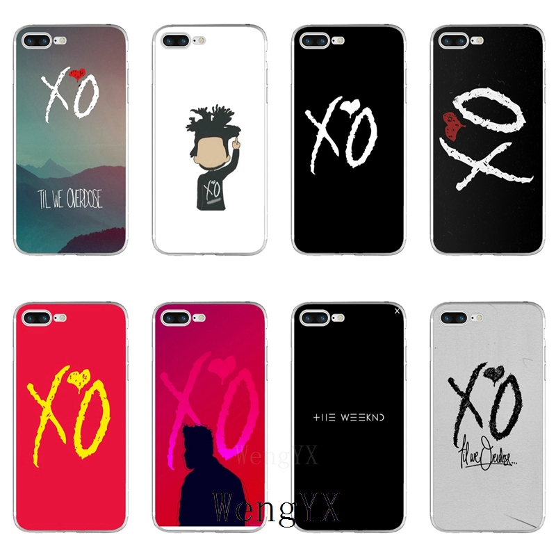 The Weeknd Xo Slim Silicone TPU Soft Phone Case For IPhone X 8 8plus 7 7plus 6 6s Plus 5 5s 5c SE 4 4s