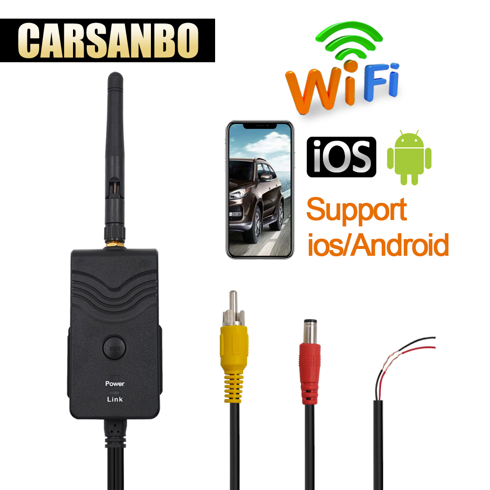 Carsanbo wifi transmitter for car camera support andorid and iphone/Transmission