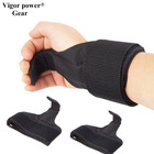Vigor Power Gear Adjustable Fitness Wrist Support Weight Lifting Hooks for bar Anti-skid Gym Grips Straps with wrist wraps