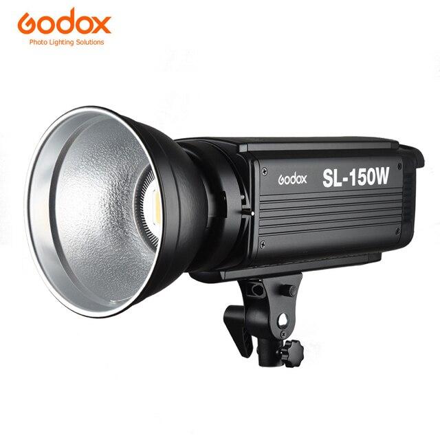 Đèn Flash Godox SL-150W 150WS 5600 K Trắng Phiên Bản MÀN HÌNH LCD ĐÈN LED Video Đầu Ra Liên Tục Gắn Kết Bowens Phòng Thu Ánh Sáng