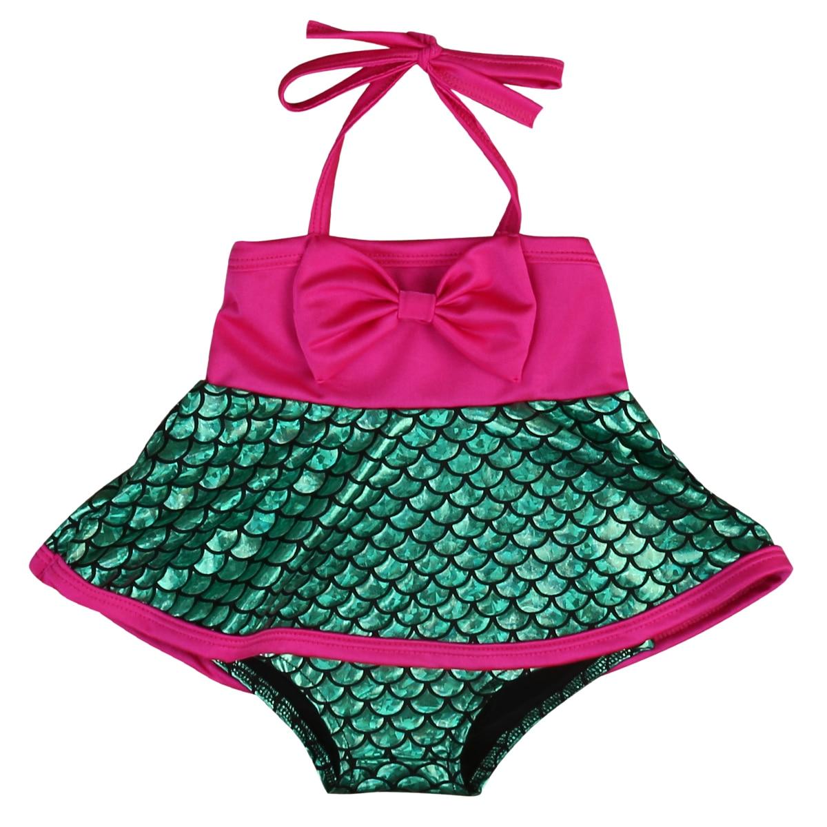 costume da bagno bambino di un pezzo del costume da bagno ragazze dei capretti dello swimwear