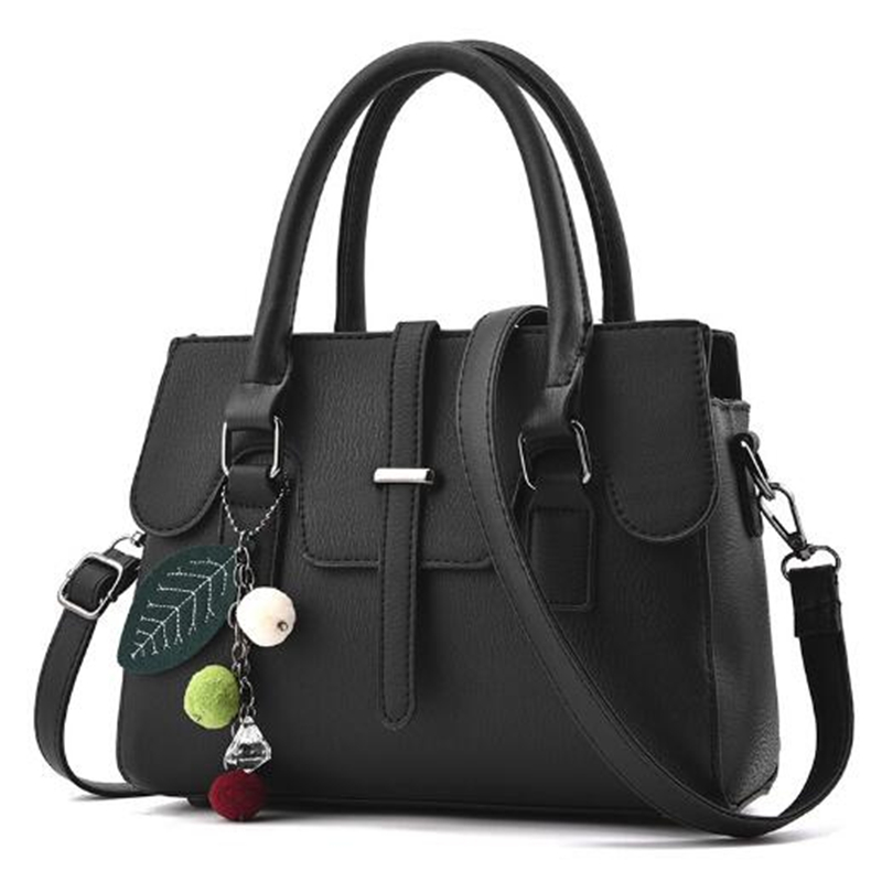 2017 New Fashion Women Shoulder Bag Pu Leather Handbags and Purse Ladies Cool Messenger Bags Femme Sac A Main Black Pink Gray 2016 new women small leather shoulder bags girls crossbody messenger bag ladies handbag and purse femme sac a epaule bolso black