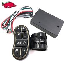 Harbll botão do volante de controle remoto luzes de navegação do carro DVD/2 din android Bluetooth sem fio controle remoto Universal