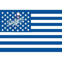 MLB Los Angeles Dodgers Flag 3×5 FT 150X90CM Banner 100D Polyester flag 1020, free shipping