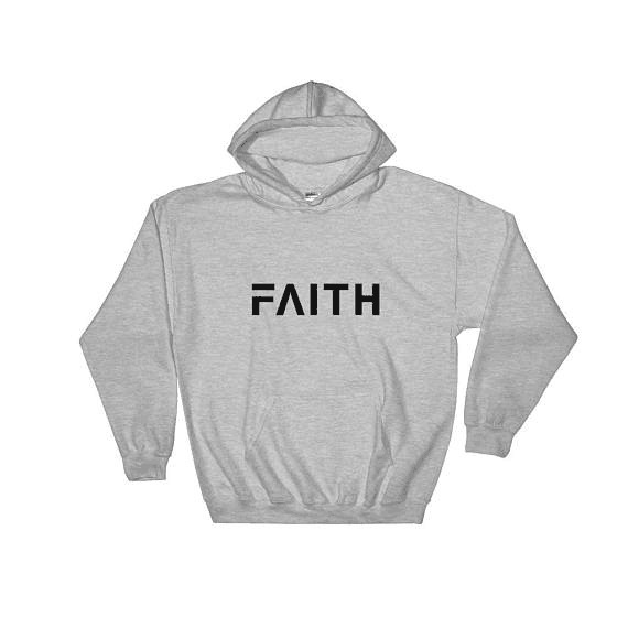 Sugarbaby Faith Hoodie Long Sleeve Fashion Casual Tops  moletom do tumblr Hoodie Unisex Tops Drop ship