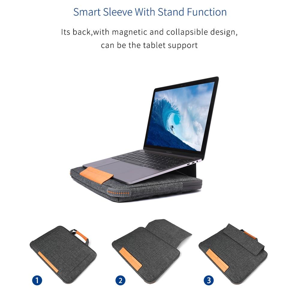 HTB1HDoJeG5s3KVjSZFNq6AD3FXa4 Unisex Solid Waterproof Laptop Computer Bag Breifcase Sleeve Case Bag Dell HP 11/13/15/In