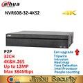 Dahua 32 Kanal Ultra 4K NVR NVR608 32 4KS2 H.265 Netzwerk DVR Intel Prozessor Bis zu 12MP Auflösung Max 384Mbps gesicht erkennung-in Überwachungsvideorekorder aus Sicherheit und Schutz bei