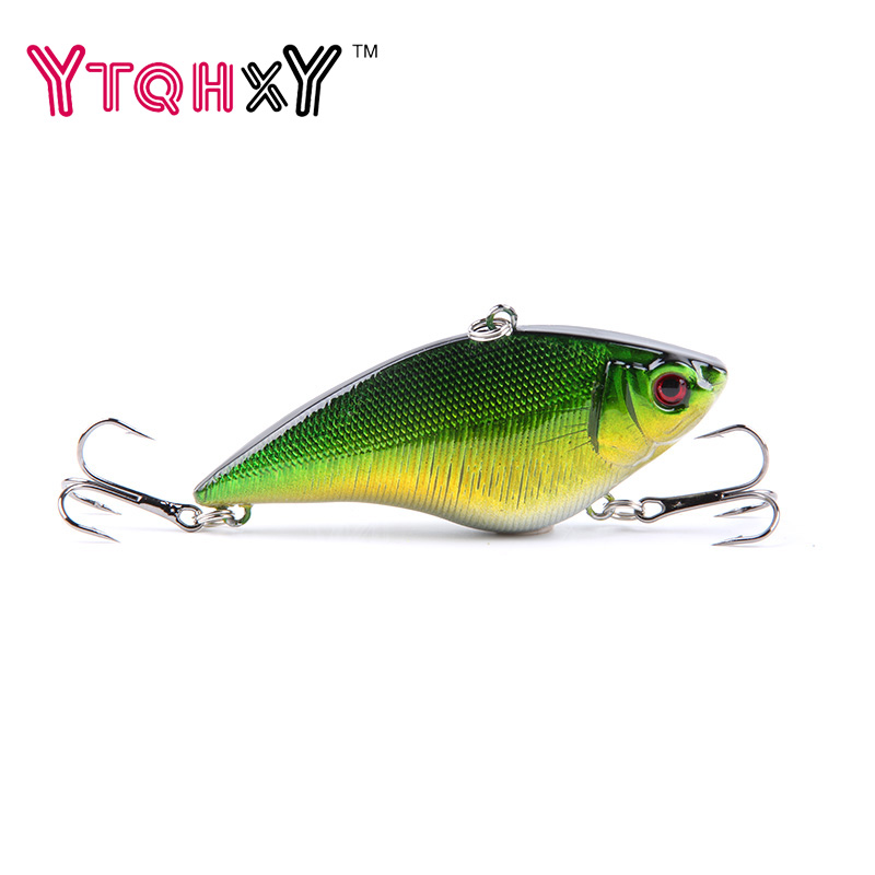 1pcs 7cm 16g Hard VIB Fishing lures Sinking Crankbait Fishing Tackle Diving Swivel Jig Wobbler Lure YE-15Y велосипед stels navigator 300 2016