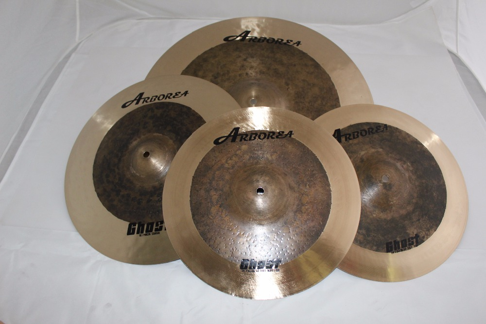 ARBOREA Ghost series cymbal set: 14hihat+17crash+18 crash