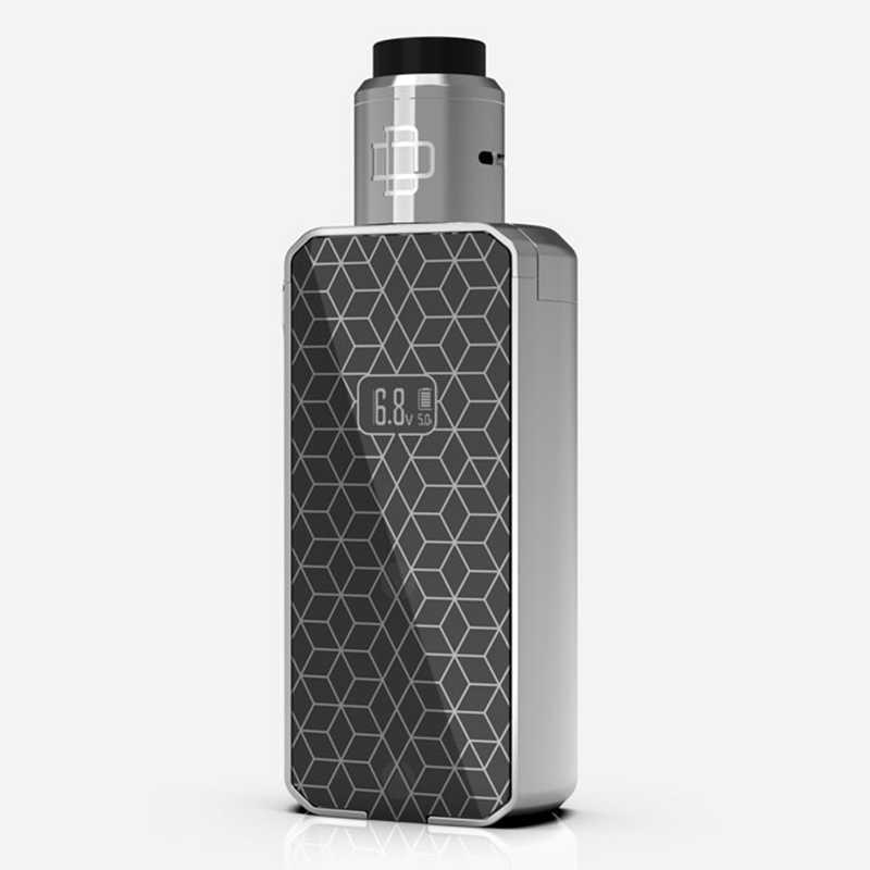 Augvape Druga Foxy электронная сигарета комплект Двойной 18650 батарея 150 Вт кнопка быстрого выпуска светодиодный цифровой дисплей коробка мод Vape
