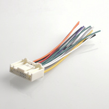 car audio stereo cd power wiring harness male adapter for nissan altima  armada titan xterra for