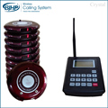Chinese Manufacturer High Quality coaster pager Wireless restaurant guest paging system