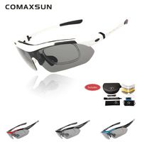 Professional Polarized Cycling Glasses Bike Casual Goggles Outdoor Sports Bicycle Sunglasses UV 400 With 5 Lens