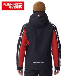 Image 2 - Chaqueta de esquí de alta calidad para hombre, chaqueta deportiva con capucha cálida de invierno para hombre, chaqueta profesional para exteriores # A7006