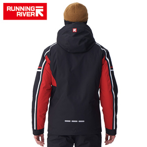 Image 2 - RUNNING RIVER Brand Men High Quality Ski Jacket Winter Warm Hooded Sports Jackets For Man Professional Outdoor jacket #A7006