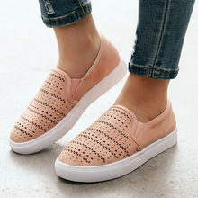 Летние женские туфли на плоской подошве кроссовки надеваются дышащие удобные повседневные новые женс