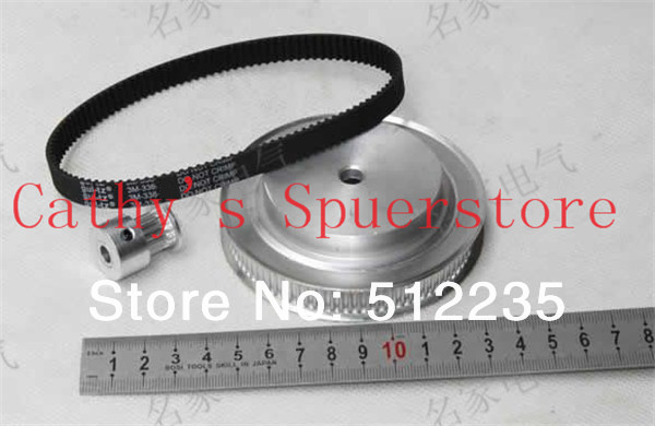Timing belt pulleys/timing belt , timing pulley, the suite of Synchronous belt 3M(8:1)