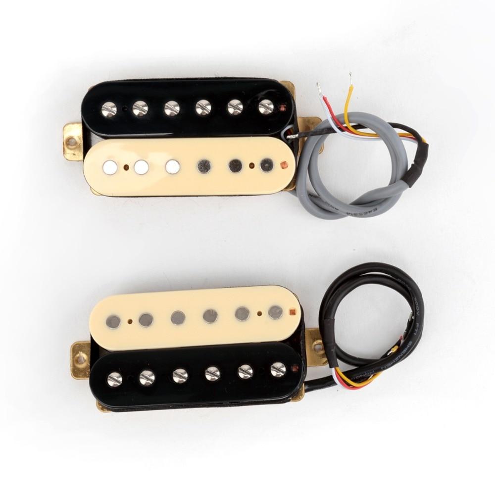 Musiclily Pro 50mm Neck 52mm Bridge Alnico 5 Humbucker Pickup for Electric Guitar