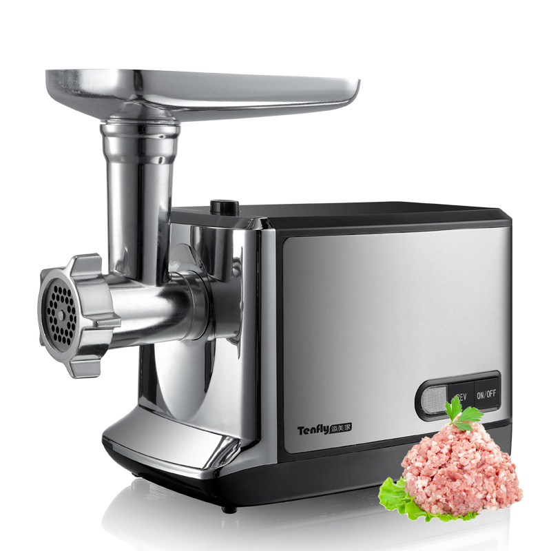 electric meat grinder stainless steel Sausage stuffing machine Heavy Duty Household Mincer Sonifer Home Kitchen Appliances 220v цена и фото