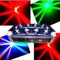 Быстрая доставка горячей led паук свет 8x10 w dmx бар луч движущихся головного света с передовой программы free доставка