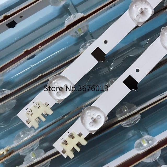 Için samsung 2013SVS32H Ue32f5000 D2GE 320SCO R3 UA32F4088AR UA32f4100AR arka lümen D2GE 320SC0 R3 650MM 9LED 32 inç