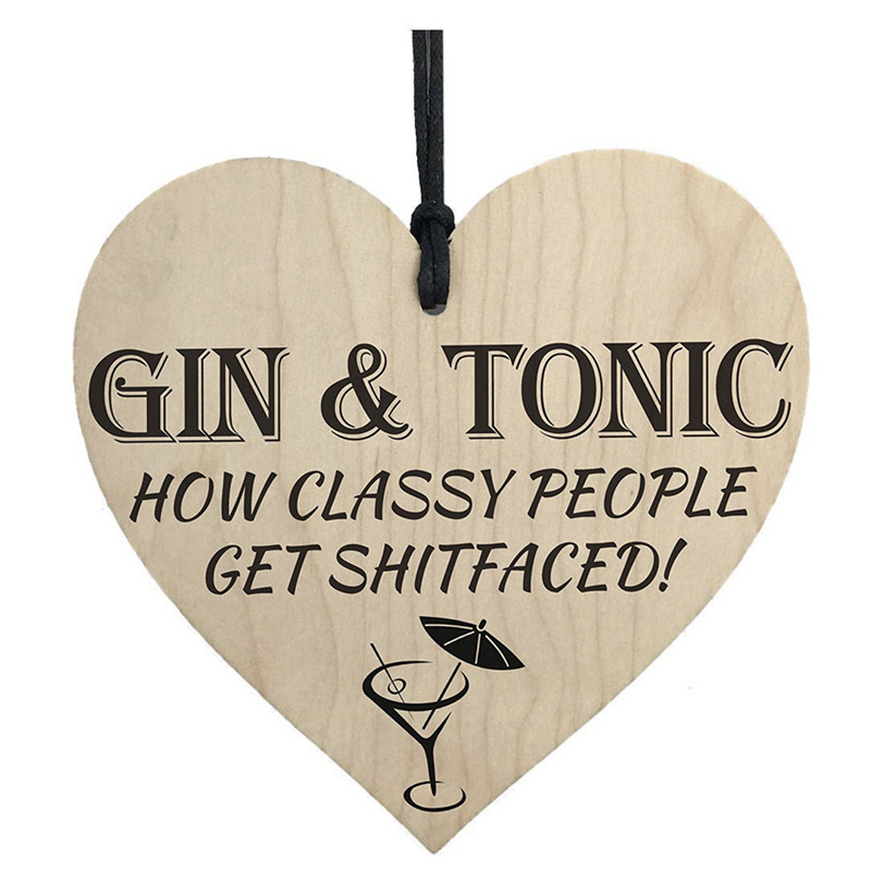 Tonic, Red, Gin, Wooden, Hanging, Kitchen