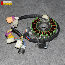 Magnetic motor Stator of JS250 ATV /JIANSHE 250-3/LONCIN 250-F ATV  SEVEN CABLE OLD MODEL WITH TRANSIT CABLE
