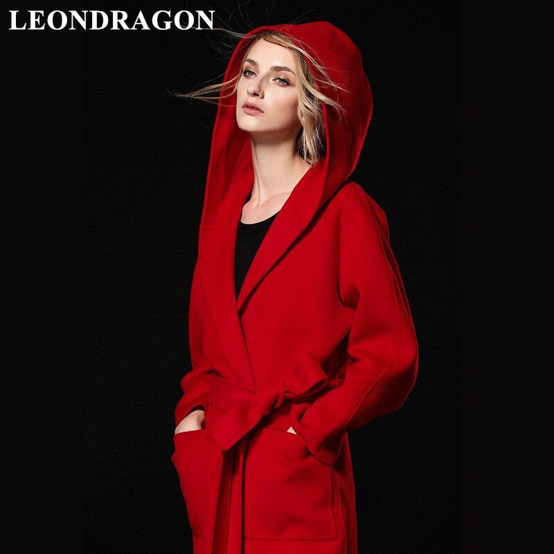 Для женщин Открыть стежка толстый Тренч из натурального кашемира шерстяные пальто для будущих мам Дамы Осень Зима теплые вечерние длинн