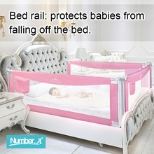 Baby Bed Fence Home Safety Gate Products child Care Barrier for beds Crib Rails Security Fencing Children Guardrail Kids Plaype