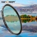 62mm Slim MC UV Ultraviolet Lens Filter Japan Import Optical Green Coated Glass Filter For Nikon D5300 Sony a99 Camera 62mm Lens