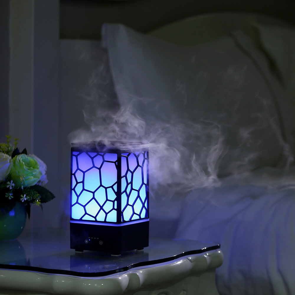 FDIK 200ml air humidifier Home Aromatherapy diffusers humidifiers ultrasonic humidifier household fogger LED night light office