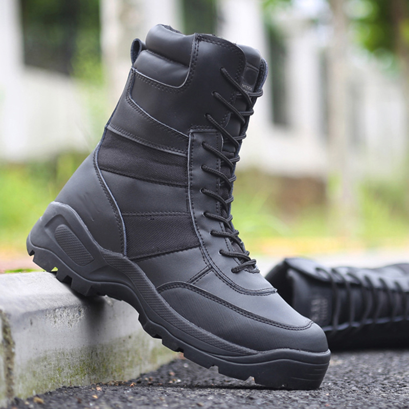 Spring Autumn Tactical Boots Men Military Desert Combat Ankle Boots Fashion Outdoor Hiking Men s Shoes