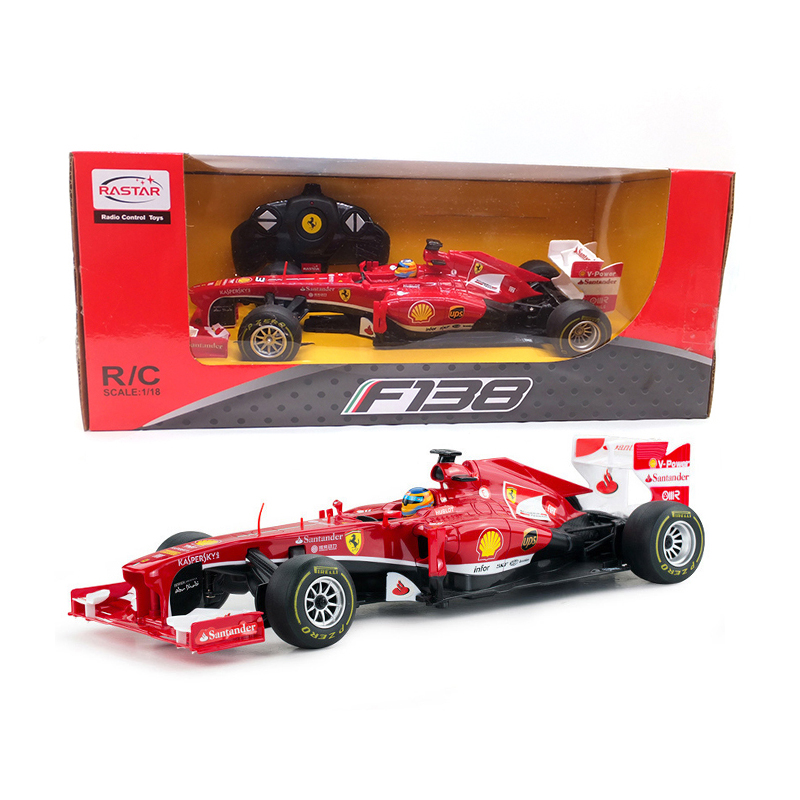 Licensed 1:18 Remote Control Car RC Car Radio Controlled Machines Remote Control Toys Kids Gifts Toys For Boys F1 53800
