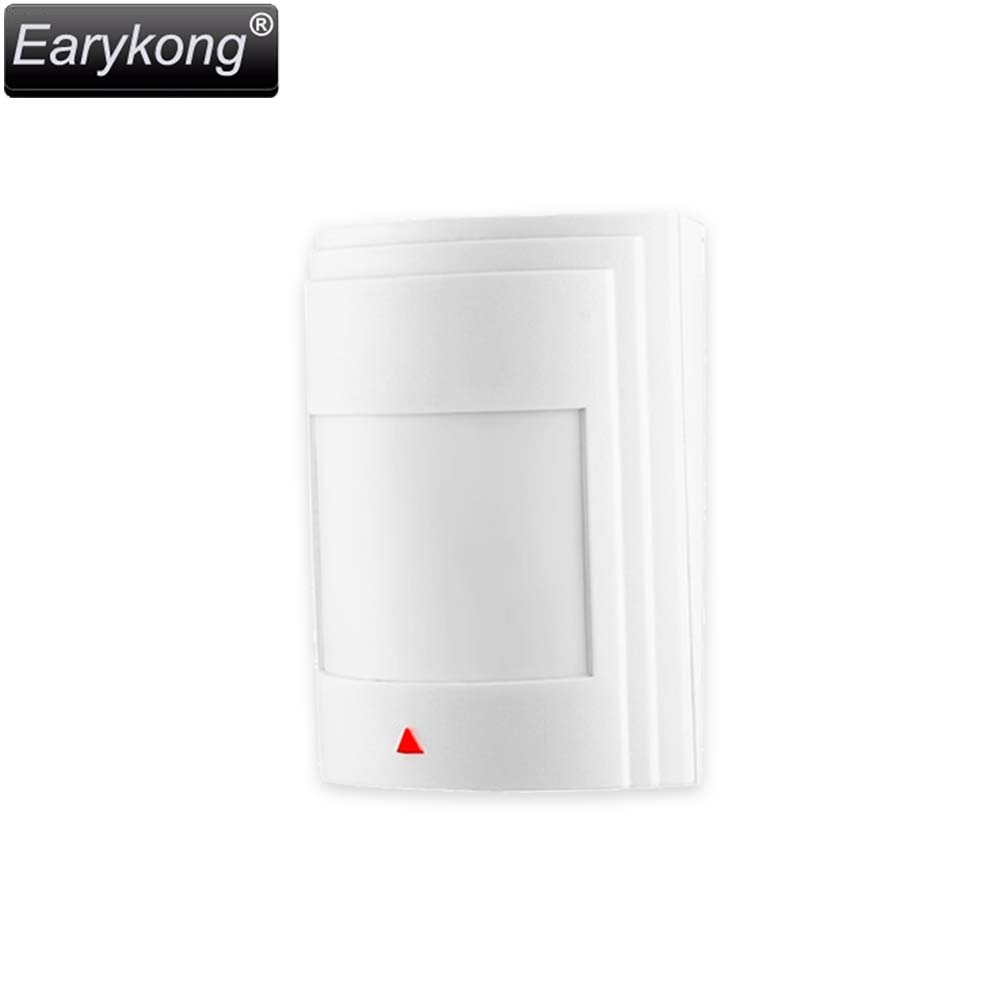 Wired PIR Infrared Motion Detector,  Wired RFI EMI ESD Lightning Protection, PCB easy Lock, For Alarm System, Free Shipping, 5pcs tdk 13mm clip on rfi emi filter ferrite