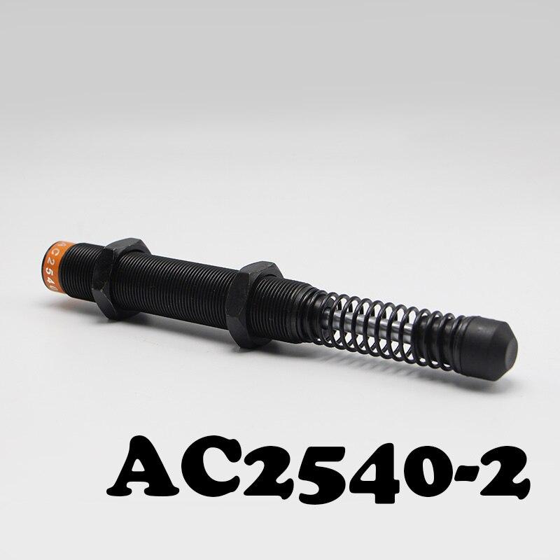 M25x1.5 Pneumatic Hydraulic Shock Absorber AC2540-2 Automatic compensation type hydraulic buffer ac3660 2  automatic compensation type