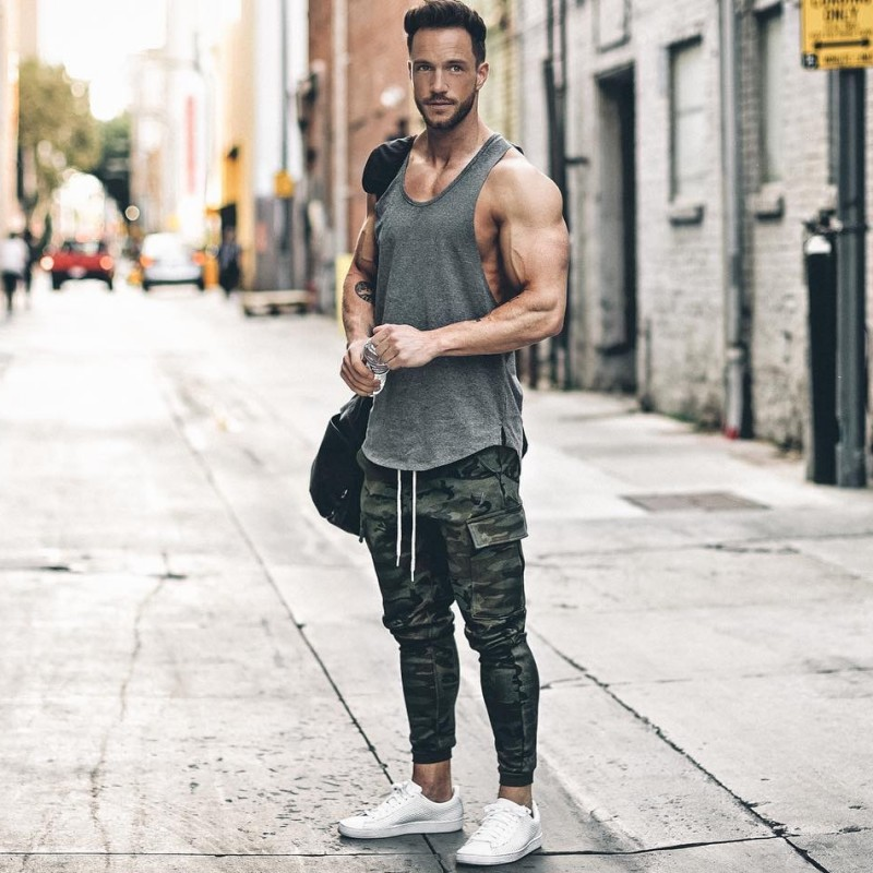 2017 NEW Pants Casual Skinny Zipper botton Sweatpants Solid Hip Hop high street Trousers Pants Men