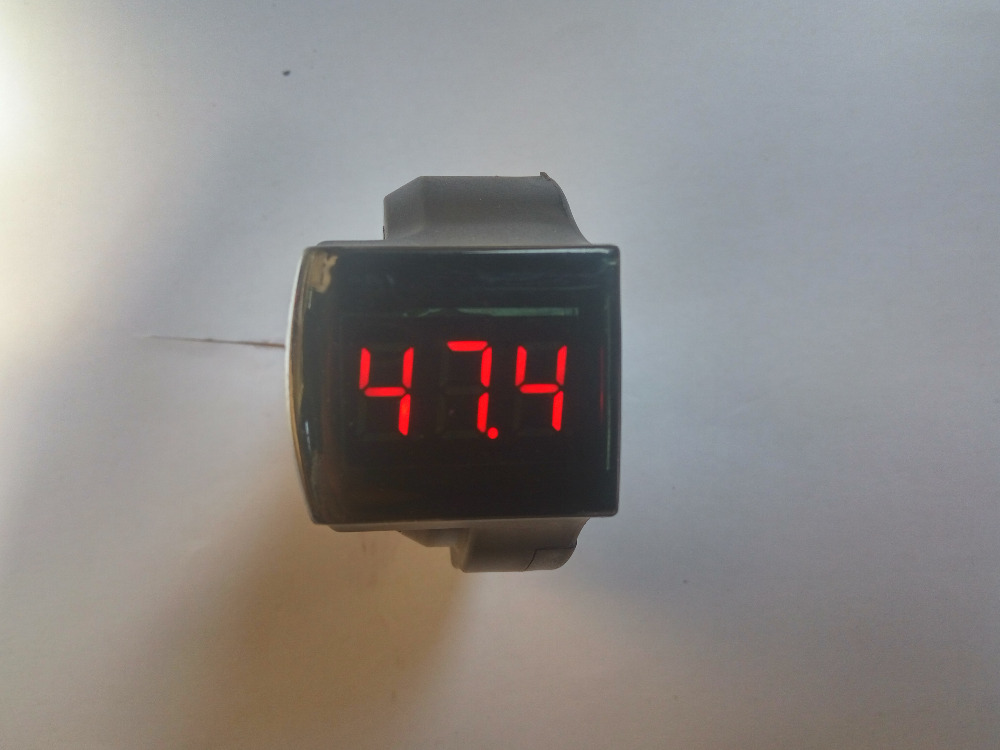 digital display only 12 100v or with lock or shifter