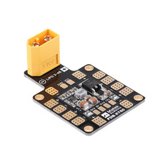 Metal Power Board RC Parts 5V 12V Dual BEC Power Distribution Board RC Accessory Connects LiPo